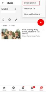 Delete-YouTube-Playlist