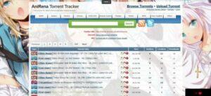 Top Anime Torrent Sites