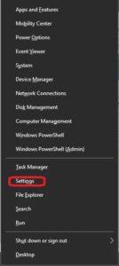 settings-on-menu